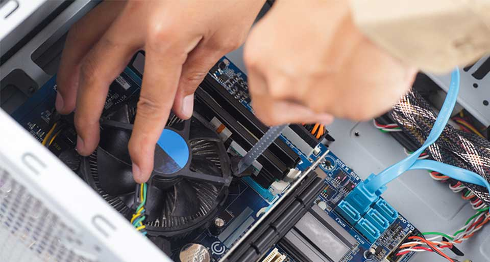 Daytona Beach FL Onsite Computer PC and Printer Repair, Network, and Voice and Data Cabling Services