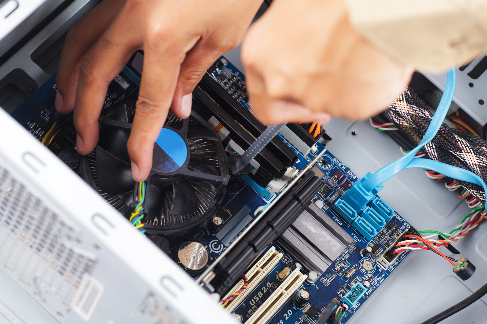 Cooper City FL On Site Computer & Printer Repair, Network, Voice & Data Cabling Services